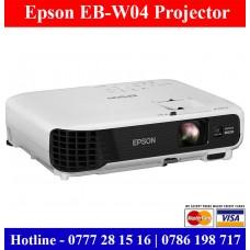 Epson EB-W04 Projectors Price Sri Lanka. Sri Lanka projector dealers Sri Lanka
