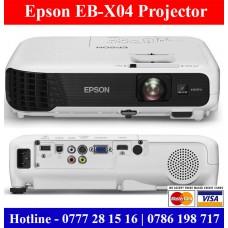Epson EB-X04 Projectors price Sri Lanka. Projectors dealers in Sri Lanka