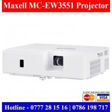 Maxell MC-EW3551 WXGA Projector Sale Price Sri Lanka