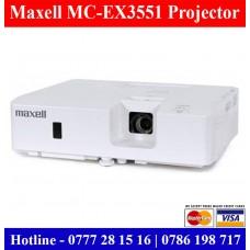 Maxell MC-EX3551 XGA Projectors sale Price Sri Lanka