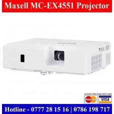 Maxell MC-EX4551 XGA Projectors sale Price Sri Lanka