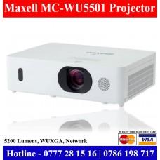 Maxell MC-WU5501 Projectors sale Price Sri Lanka | 5200 lumens Projectors