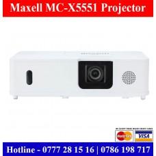 Maxell MC-X5551 Projector sale Price in Sri Lanka