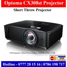 Optoma CX308ST Short Throw Projectors Colombo, Sri Lanka