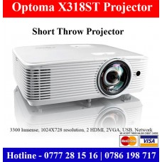 Optoma X318ST Projectors Colombo, Sri Lanka