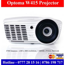 Optom W415 4500 lumense Projectors Sale Colombo, Sri Lanka