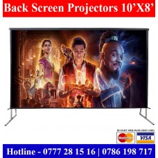 10x8 Back Projector Screens sale Sri Lanka | Back and Rear Projector Screens