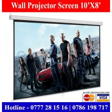 10x8 Wall Mount Projector Screens Suppliers Sale Price Colombo, Sri Lanka
