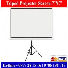 7x7 Tripod Projector Screens Suppliers Sale Price Colombo, Sri Lanka