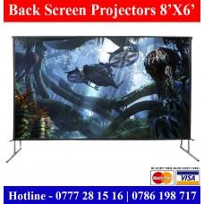 8x6 Back Projector Screens sale Sri Lanka | Back and Rear Projector Screens