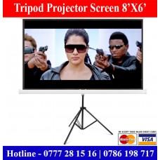 8X6 Tripod Projectors screens in Sri Lanka. Projector Screens sale Sri Lanka