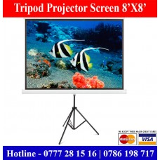 8x8 Tripod Projector Screens Suppliers Sale Price Colombo, Sri Lanka