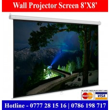 8x8 Wall Mount Projector Screens Supplier Sale Price Colombo, Sri Lanka