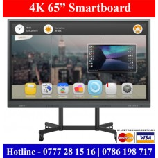 65 inch Abans Digital 4K Smart Board sale price in Sri Lanka