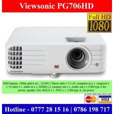 Viewsonic PG706HD FullHD Projectors Sri Lanka