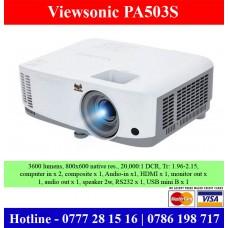 Viewsonic PA503S Projectors sale price Sri Lanka